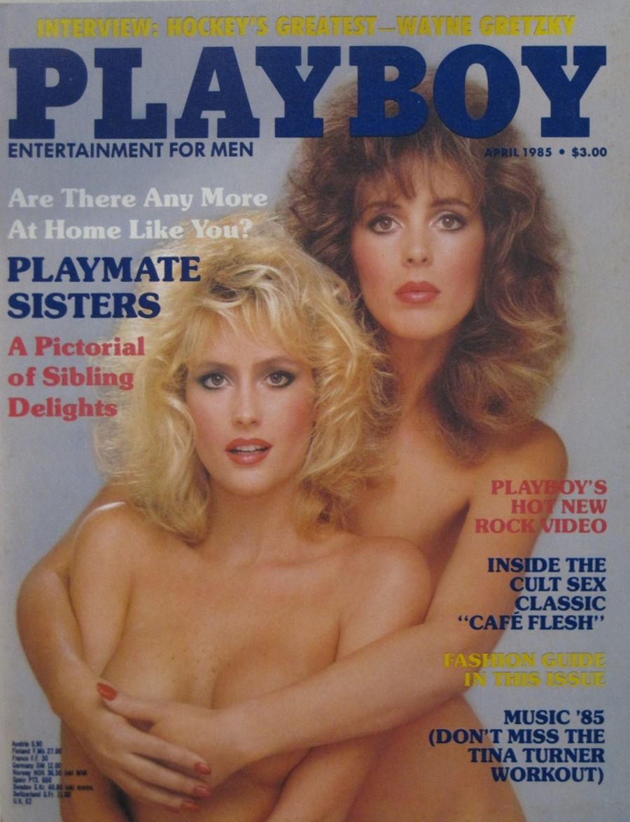 PLAYBOY. APR. 1985. VINTAGE MEN'S MAGAZINE.