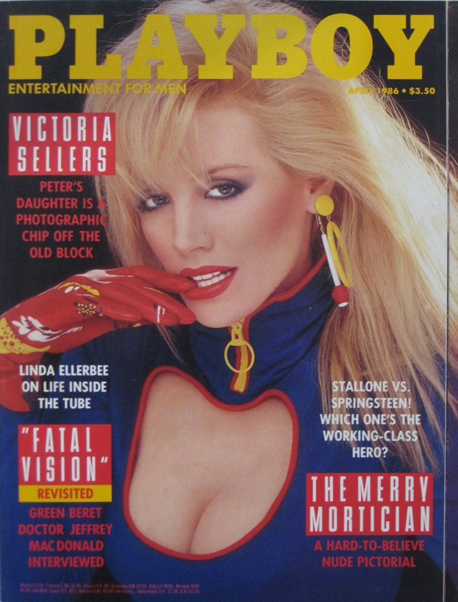 PLAYBOY. APR. 1986. VINTAGE MEN'S MAGAZINE.