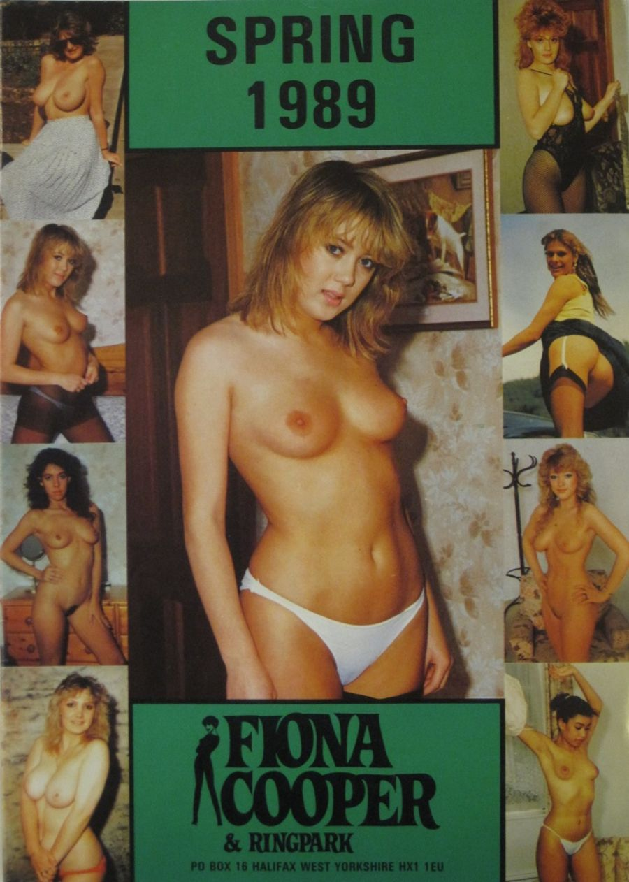 FIONA COOPER. SPRING 1989.  VINTAGE ADULT CATALOGUE.