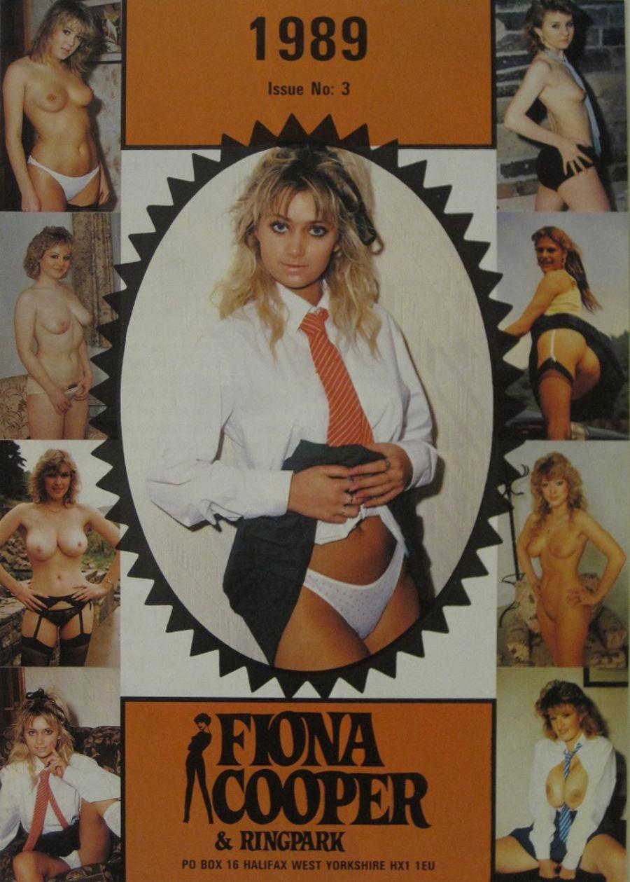 FIONA COOPER. 1989 NUMBER 3.  VINTAGE ADULT CATALOGUE..