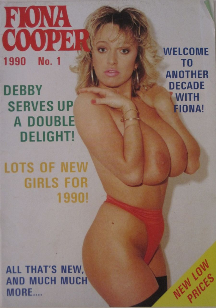 FIONA COOPER. 1990 NUMBER 1.  VINTAGE ADULT CATALOGUE..