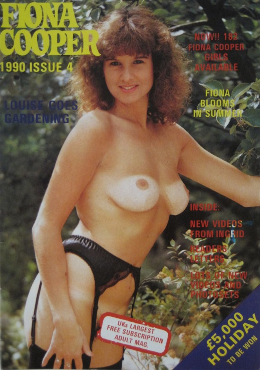 FIONA COOPER. 1990 NUMBER 4.  VINTAGE ADULT CATALOGUE..