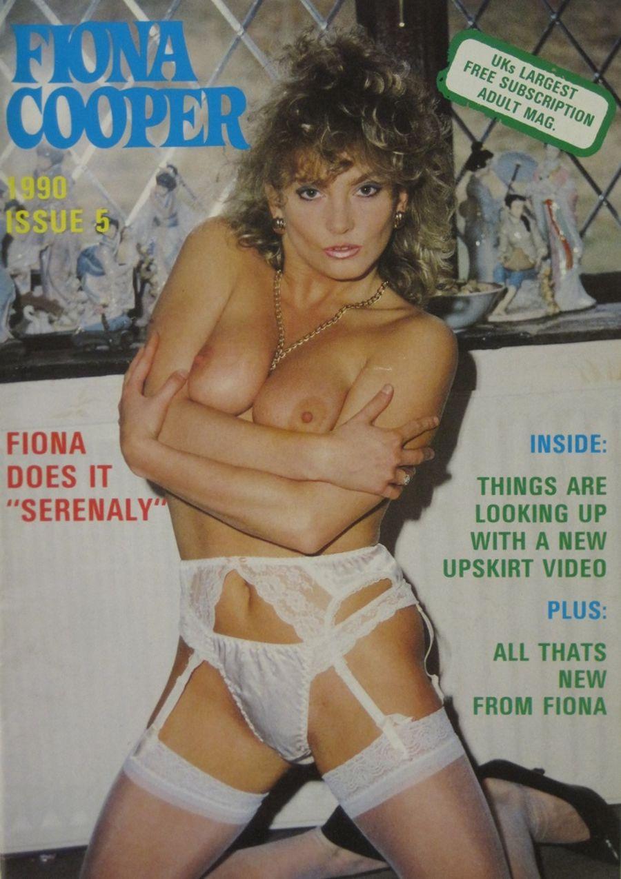 FIONA COOPER. 1990 NUMBER 5.  VINTAGE ADULT CATALOGUE..