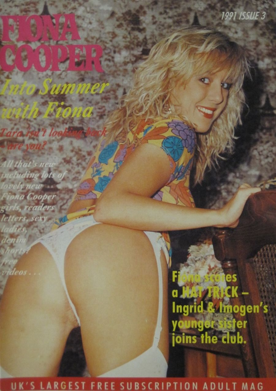FIONA COOPER. 1991 NUMBER 3.  VINTAGE ADULT CATALOGUE..