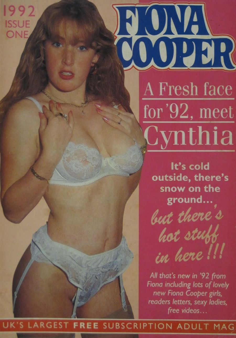 FIONA COOPER. 1992 NUMBER 1.  VINTAGE ADULT CATALOGUE..