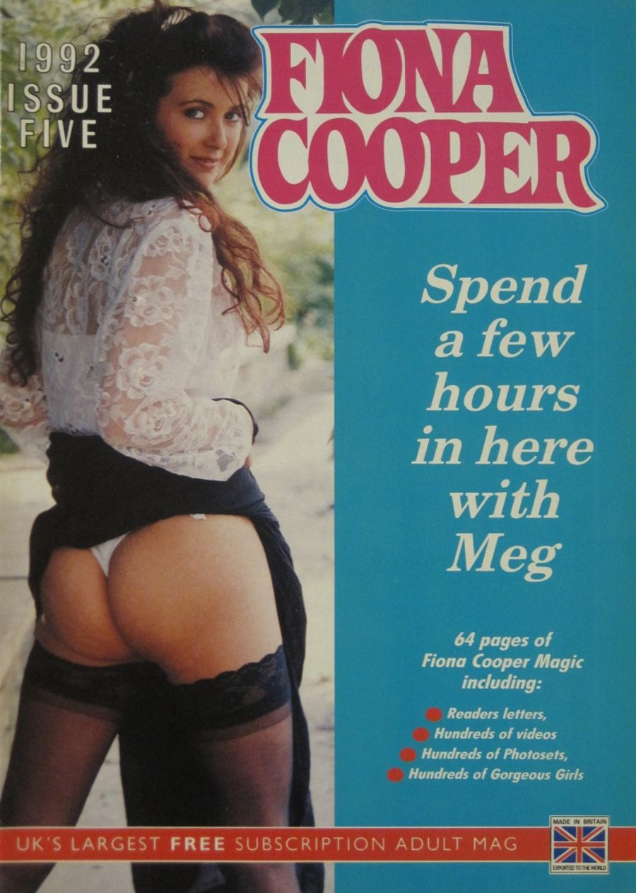 FIONA COOPER. 1992 NUMBER 6.  VINTAGE ADULT CATALOGUE..