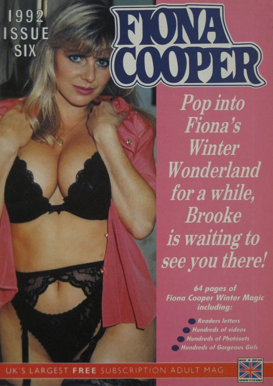 FIONA COOPER. 1992 NUMBER 6.  VINTAGE ADULT CATALOGUE. DM1019