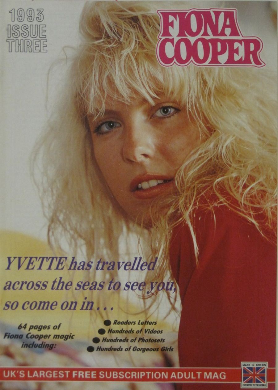 FIONA COOPER. 1993 NUMBER 3.  VINTAGE ADULT CATALOGUE..