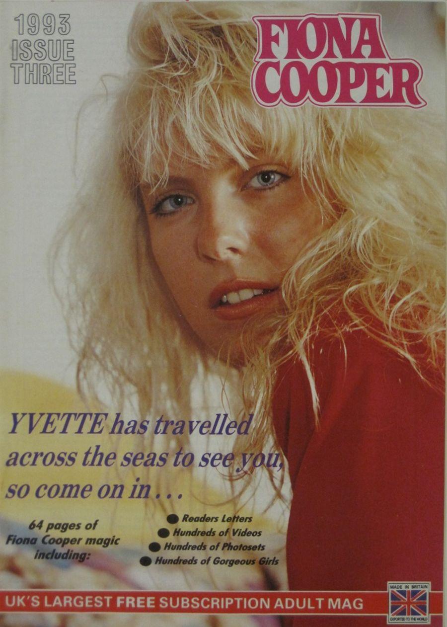 FIONA COOPER. 1993 NUMBER 3.  VINTAGE ADULT CATALOGUE..