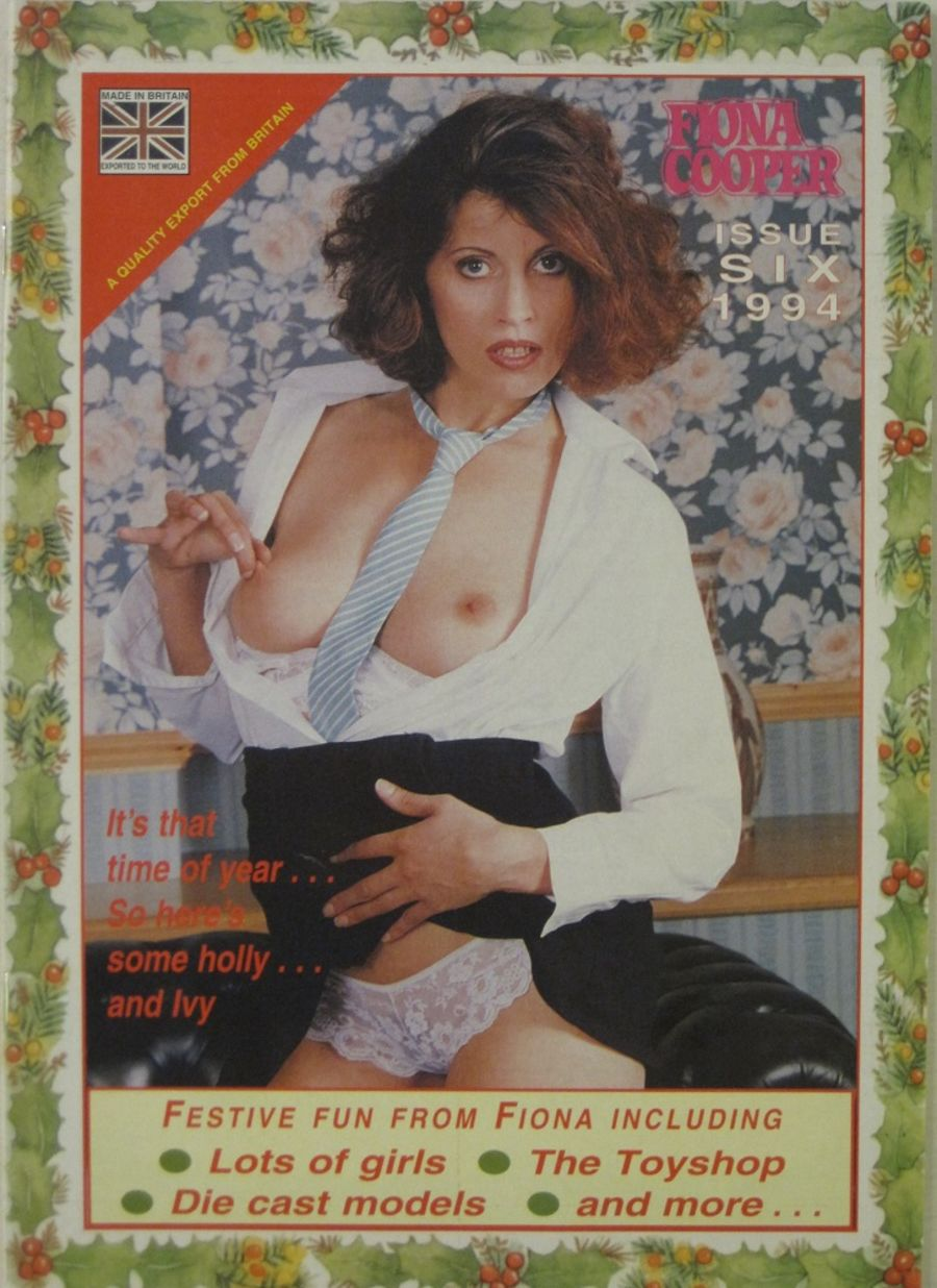 FIONA COOPER. 1994 NUMBER 6.  VINTAGE ADULT CATALOGUE..