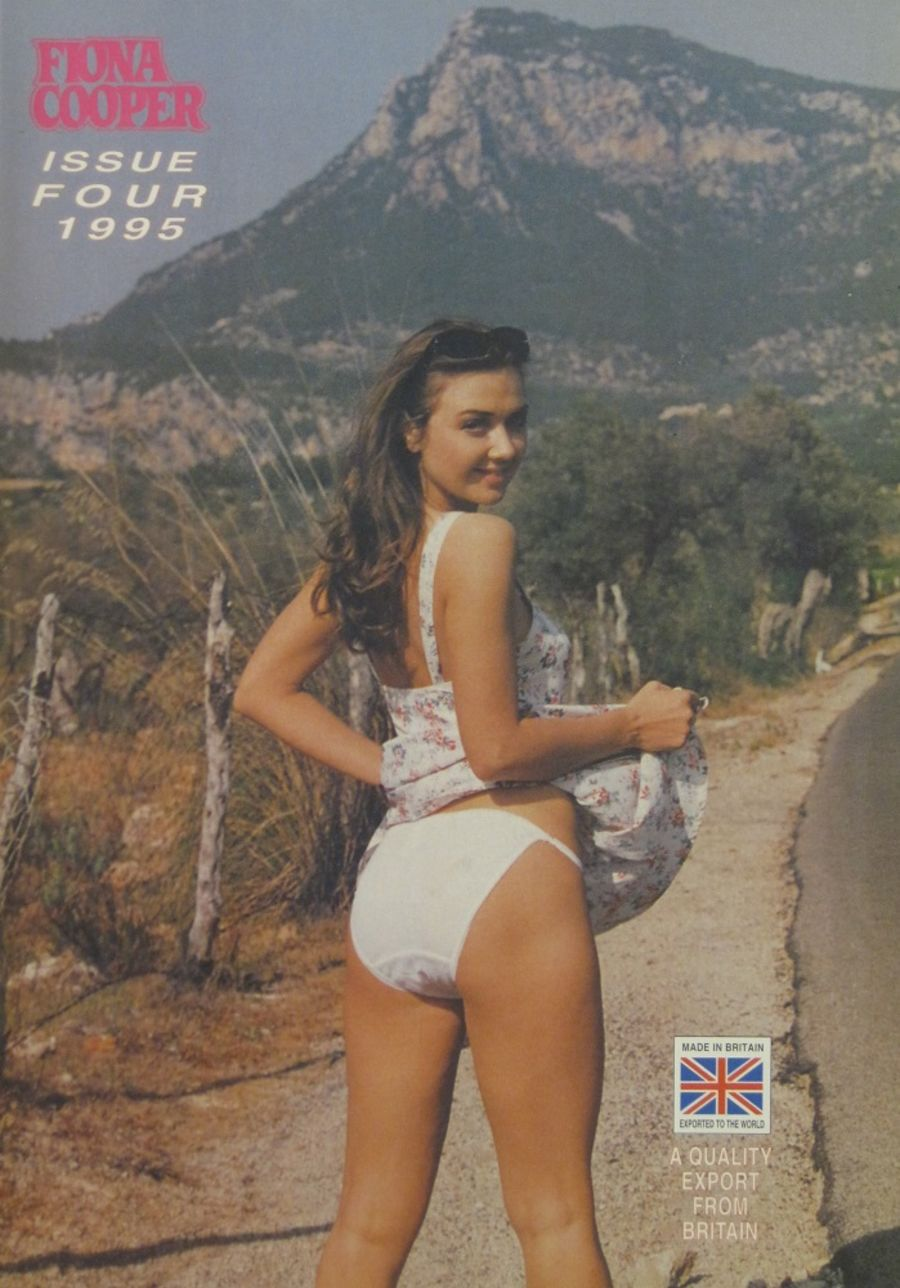 FIONA COOPER. 1995 NUMBER 4.  VINTAGE ADULT CATALOGUE..