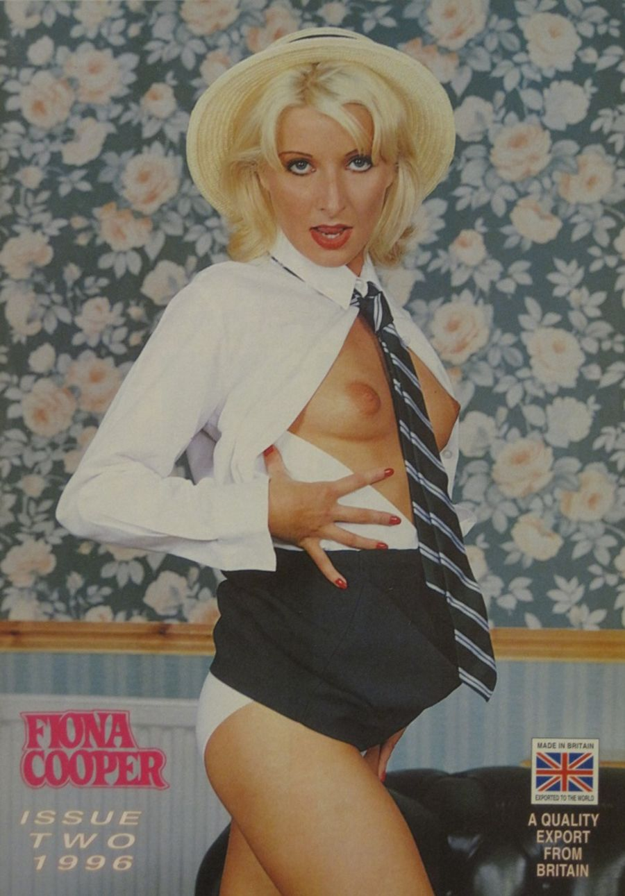 FIONA COOPER. 1996 NUMBER 2.  VINTAGE ADULT CATALOGUE..