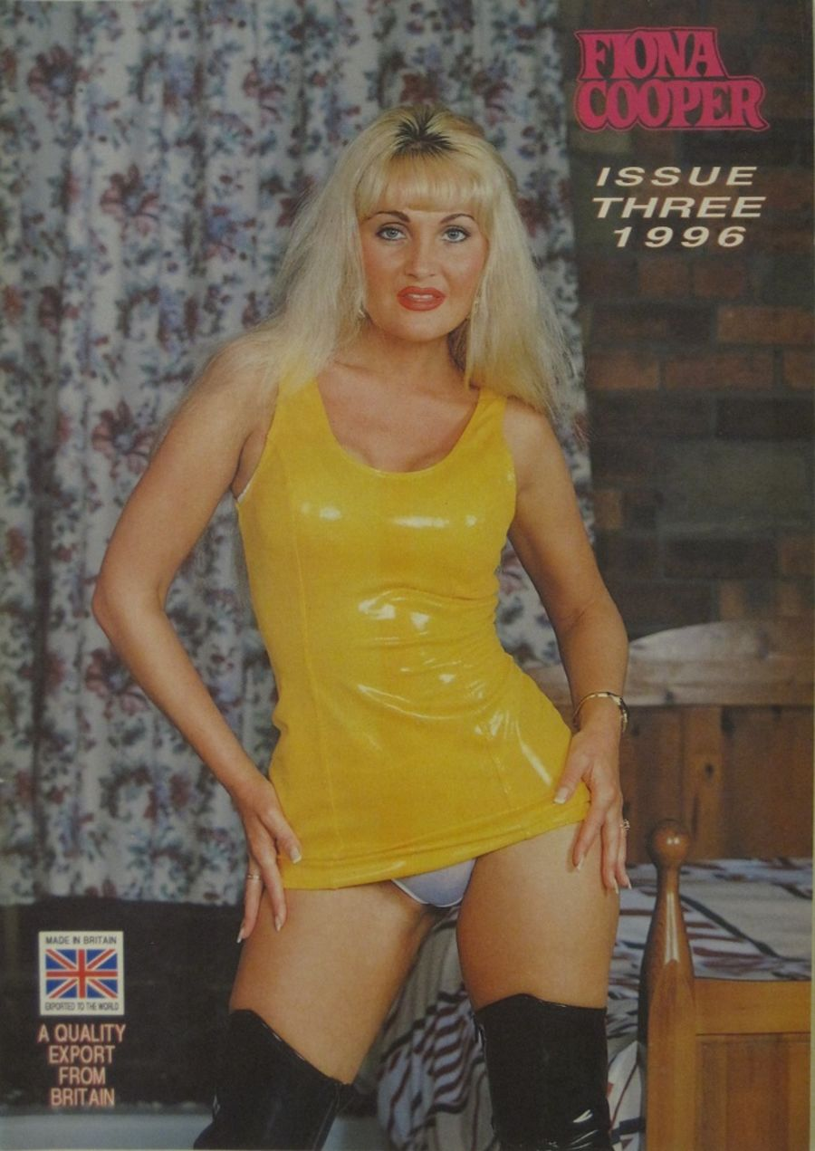 FIONA COOPER. 1996 NUMBER 3.  VINTAGE ADULT CATALOGUE..