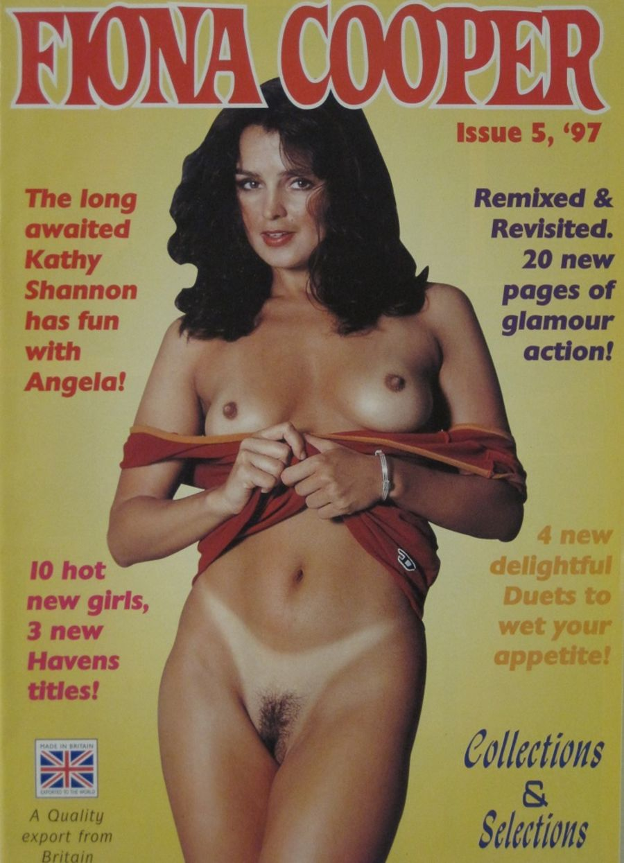 FIONA COOPER. 1997 NUMBER 5.  VINTAGE ADULT CATALOGUE..