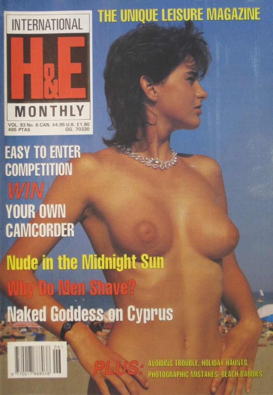 HEALTH & EFFICIENCY MONTHLY. VOL. 93 NO. 6.  VINTAGE NATURIST MAGAZINE.
