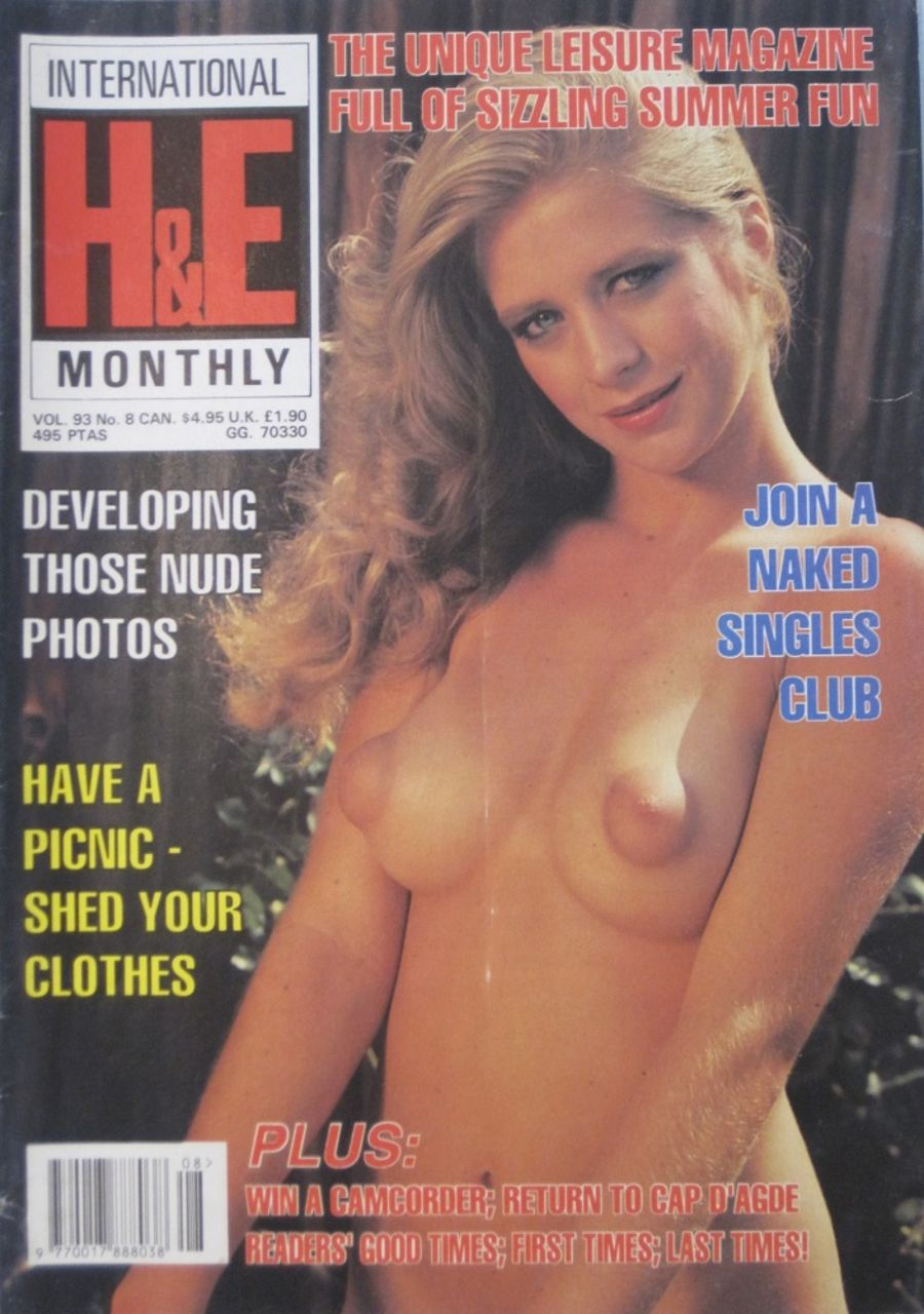 HEALTH & EFFICIENCY MONTHLY. VOL. 93 NO. 8.  VINTAGE NATURIST MAGAZINE.