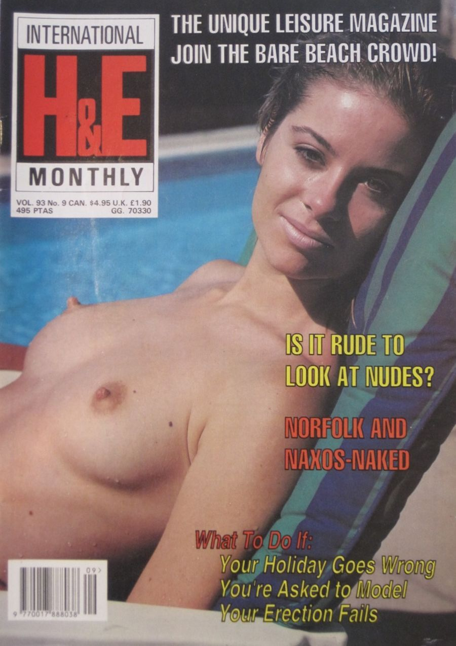 HEALTH & EFFICIENCY MONTHLY. VOL. 93 NO. 9.  VINTAGE NATURIST MAGAZINE.