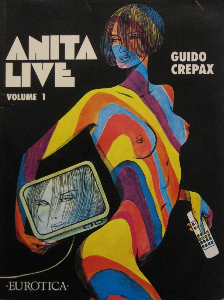 ANITA LIVE. VOL. 1. BY GUIDO CREPAX.