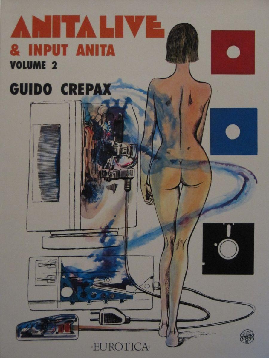 ANITA LIVE & INPUT ANITA. VOL. 2. BY GUIDO CREPAX.