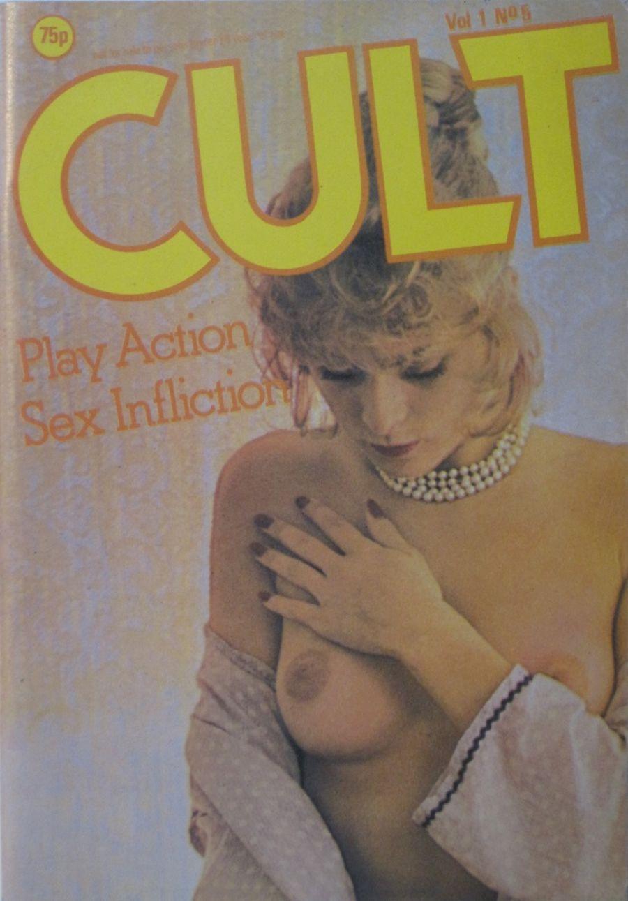 CULT. VOL. 1 NO. 5. VINTAGE MEN'S POCKET MAGAZINE.