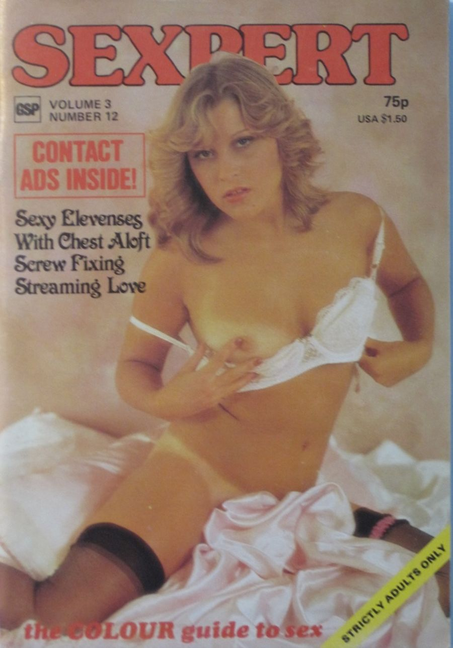 SEXPERT. VOL. 3 NO. 12. VINTAGE MEN'S POCKET MAGAZINE.