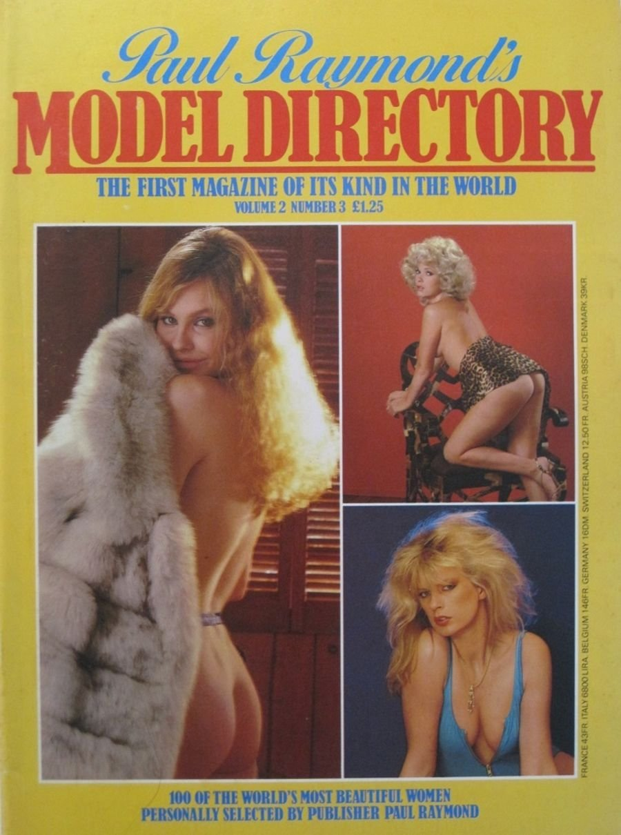 MODEL DIRECTORY. VOL. 2 NO. 3. VINTAGE MEN'S MAGAZINE.