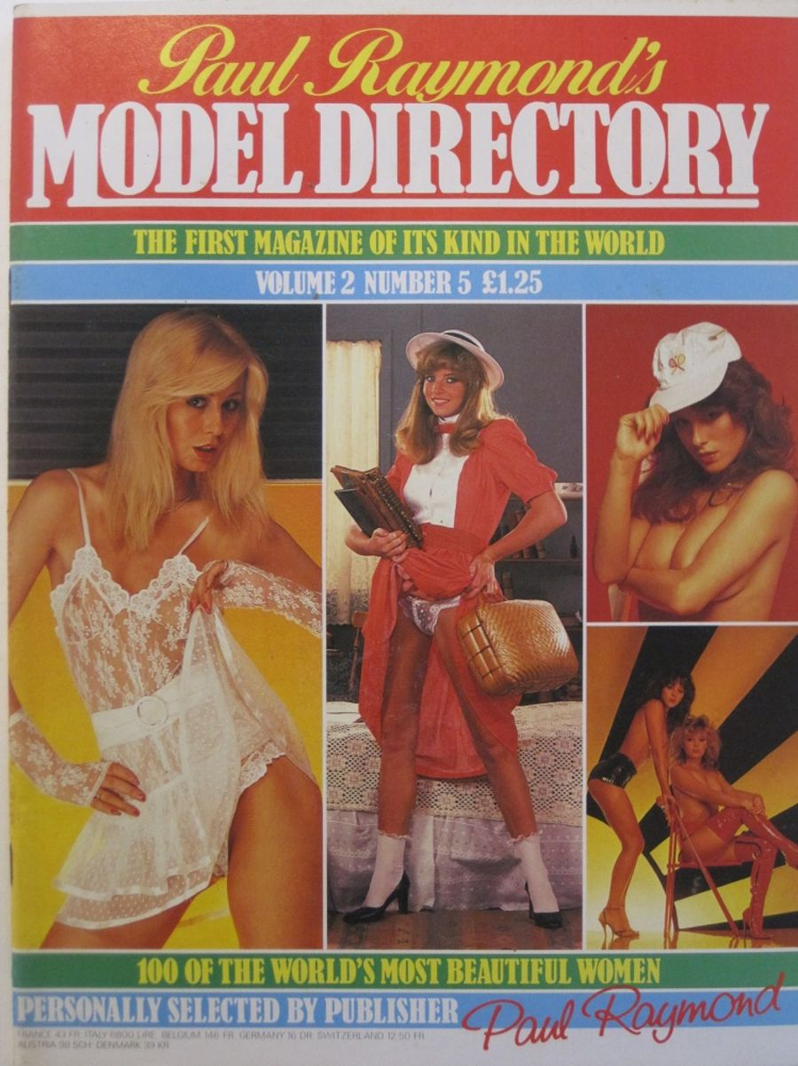 MODEL DIRECTORY. VOL. 2 NO. 5. VINTAGE MEN'S MAGAZINE.