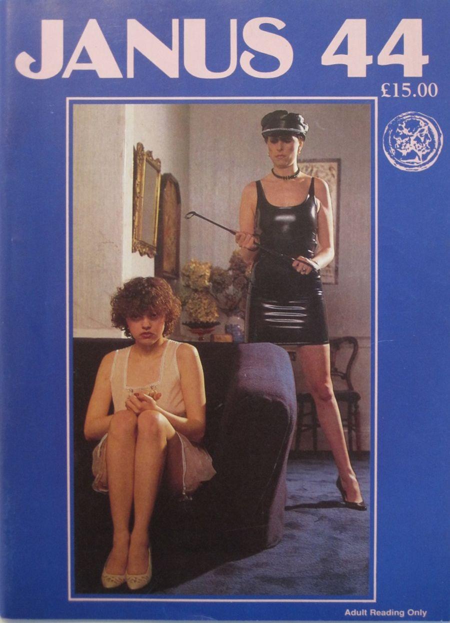 JANUS. NO. 44. 1985 VINTAGE MEN'S SPANKING MAGAZINE.