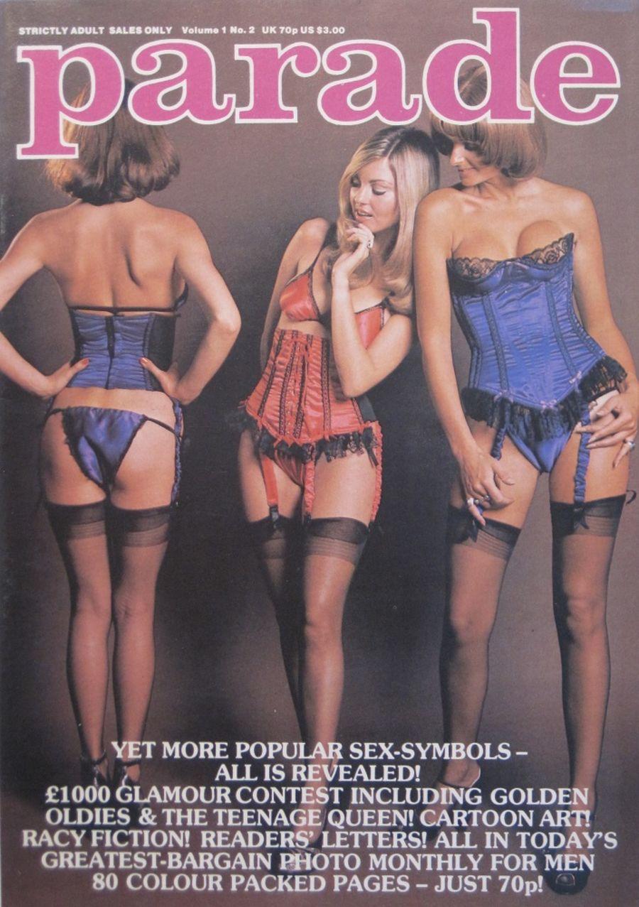 PARADE. VOL. 1 NO. 2. 1983 VINTAGE MEN'S MAGAZINE.