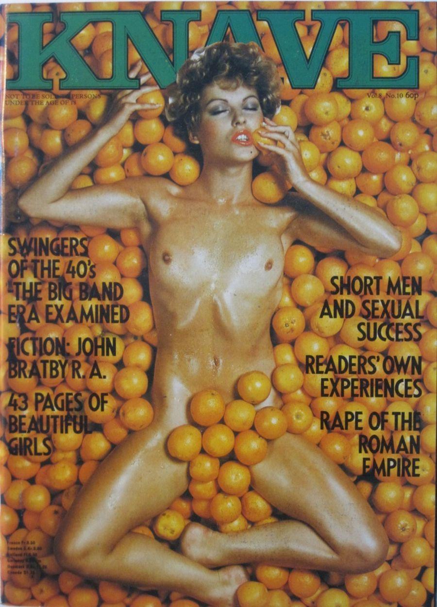 KNAVE. VOL. 8 NO. 10. 1976 VINTAGE MEN'S MAGAZINE.