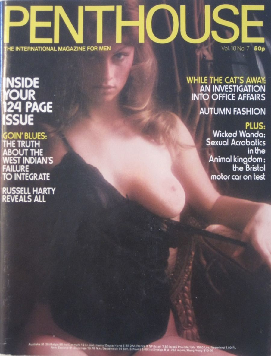 PENTHOUSE. VOL. 10 NO. 7. VINTAGE MEN'S MAGAZINE.