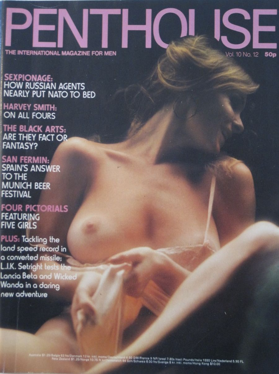 PENTHOUSE. VOL. 10 NO. 12. VINTAGE MEN'S MAGAZINE.