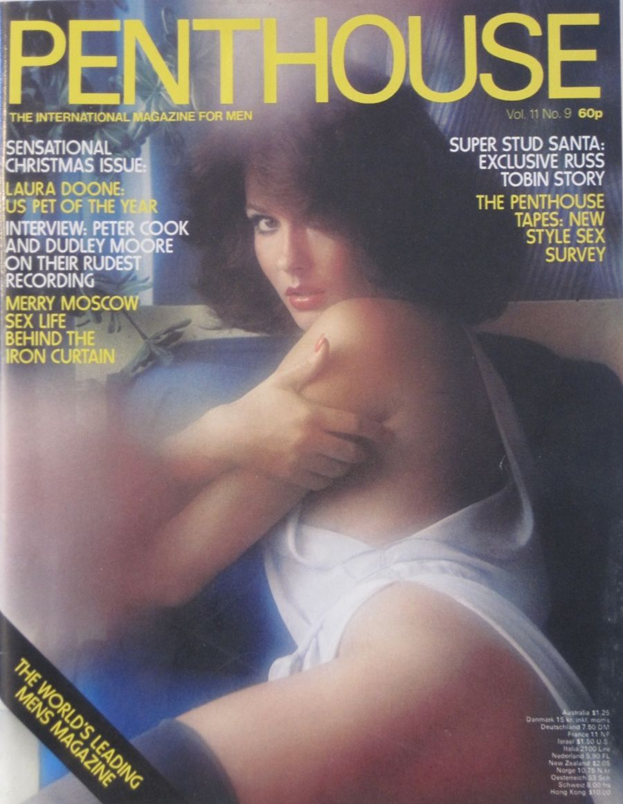 PENTHOUSE. VOL. 11 NO. 9. VINTAGE MEN'S MAGAZINE.