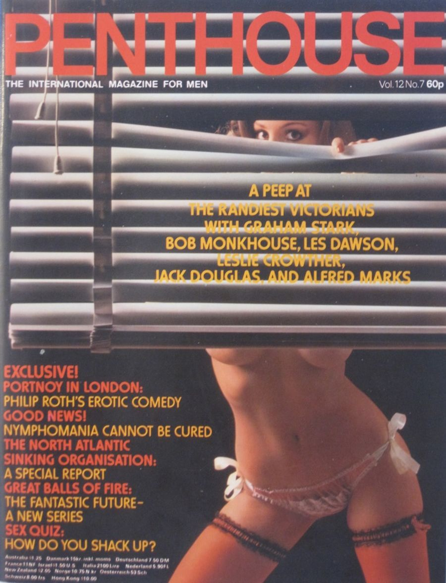 PENTHOUSE. VOL. 12  NO. 7. VINTAGE MEN'S MAGAZINE.