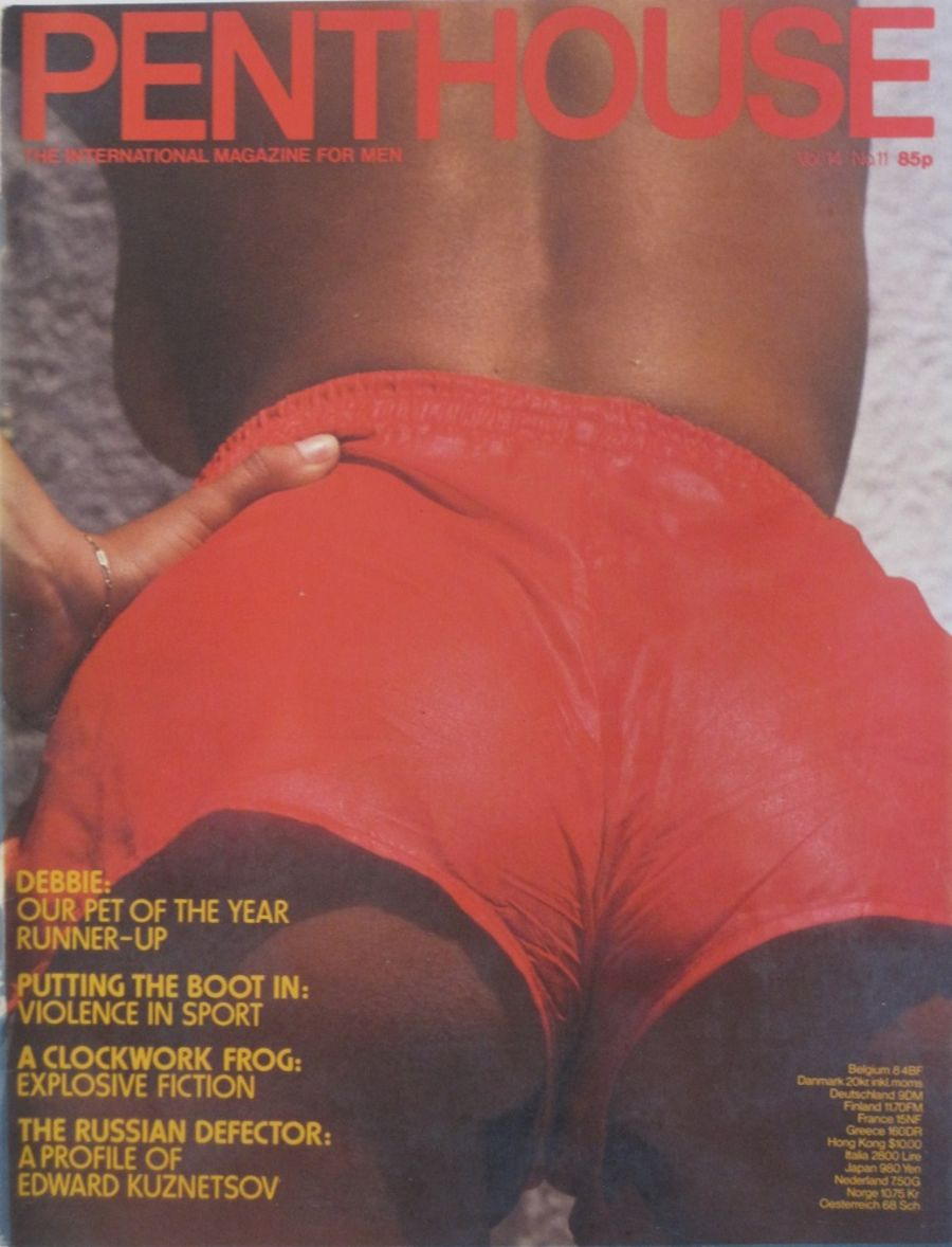 PENTHOUSE. VOL. 14  NO. 11. VINTAGE MEN'S MAGAZINE.