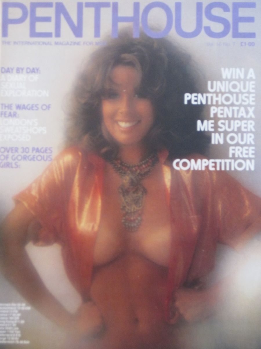 PENTHOUSE. VOL. 16  NO. 7. VINTAGE MEN'S MAGAZINE.