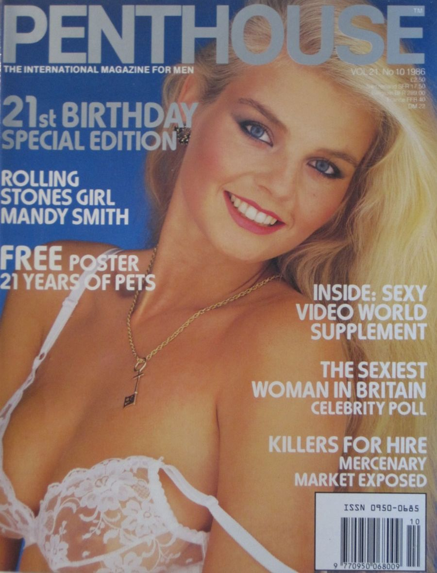 PENTHOUSE. VOL. 21  NO. 10. VINTAGE MEN'S MAGAZINE.