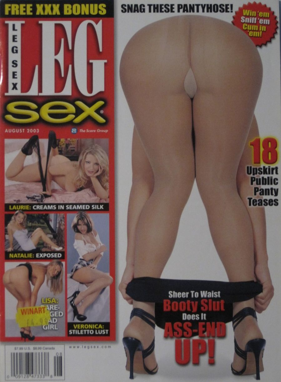 LEG SEX. AUG. 2003. VINTAGE MEN'S MAGAZINE.