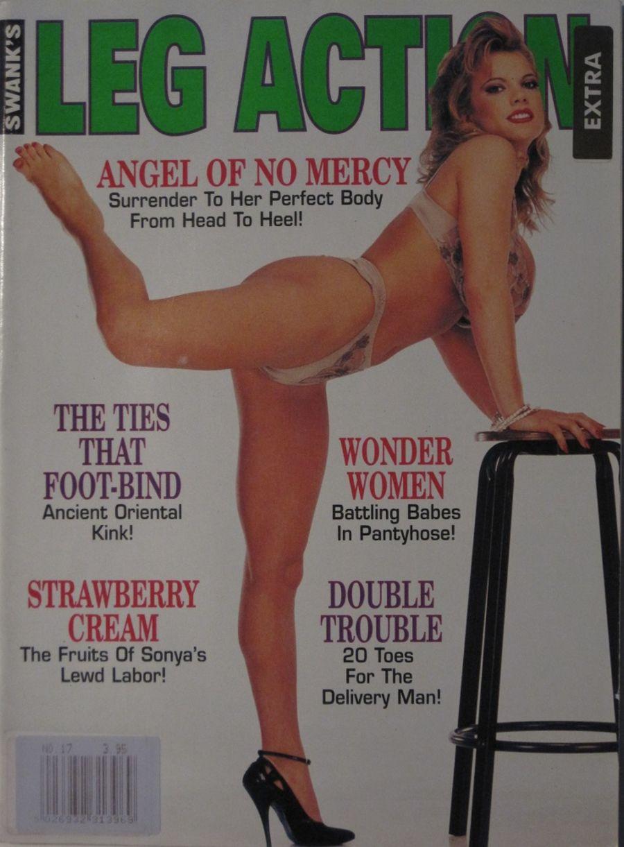 LEG ACTION. JUN. 1996. VINTAGE MEN'S MAGAZINE.