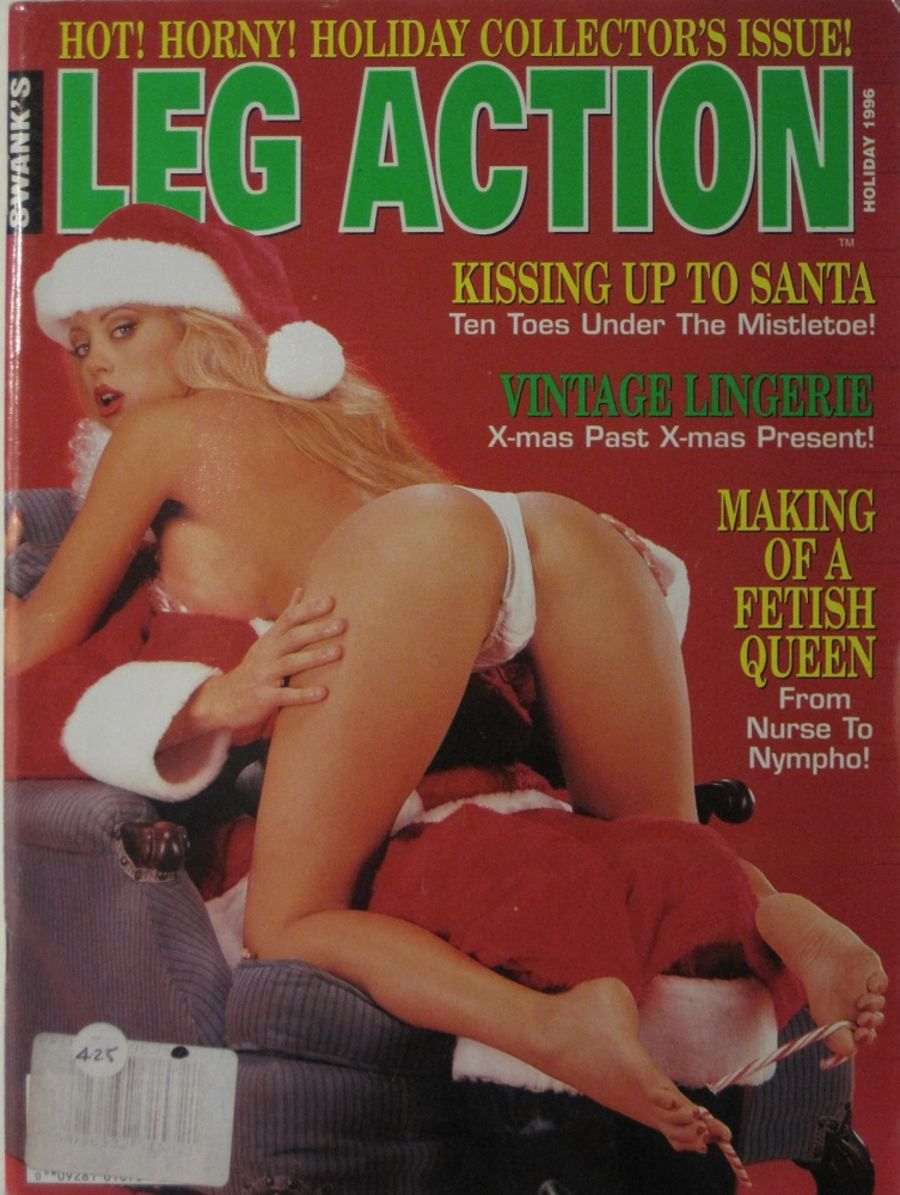 LEG ACTION. HOLIDAY 1996. VINTAGE MEN'S MAGAZINE.