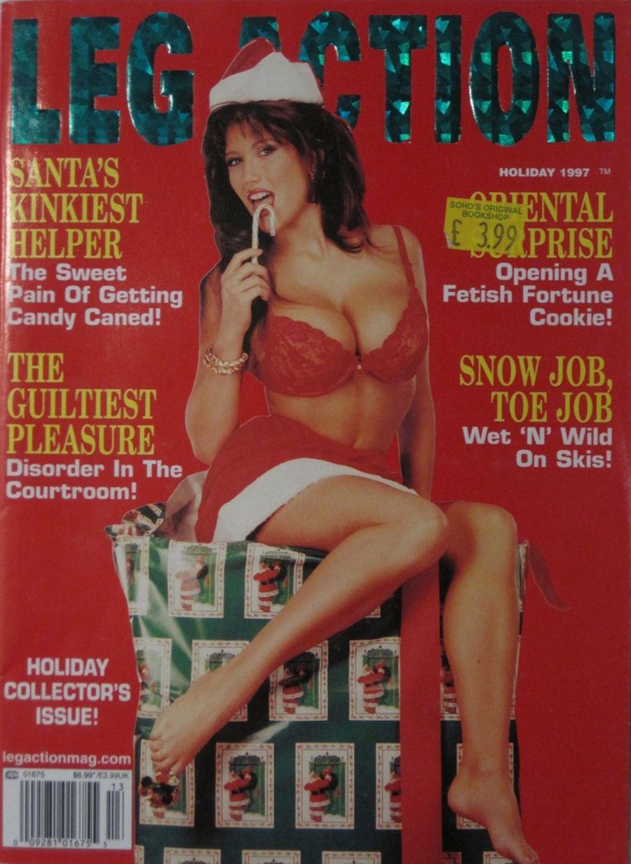 LEG ACTION. HOLIDAY 1997. VINTAGE MEN'S MAGAZINE.