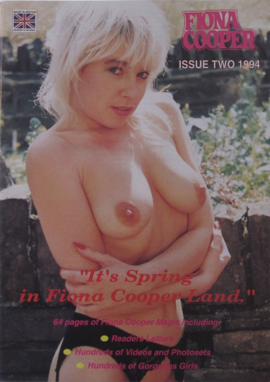FIONA COOPER. 1994 NO. 2. VINTAGE ADULT CATALOGUE.