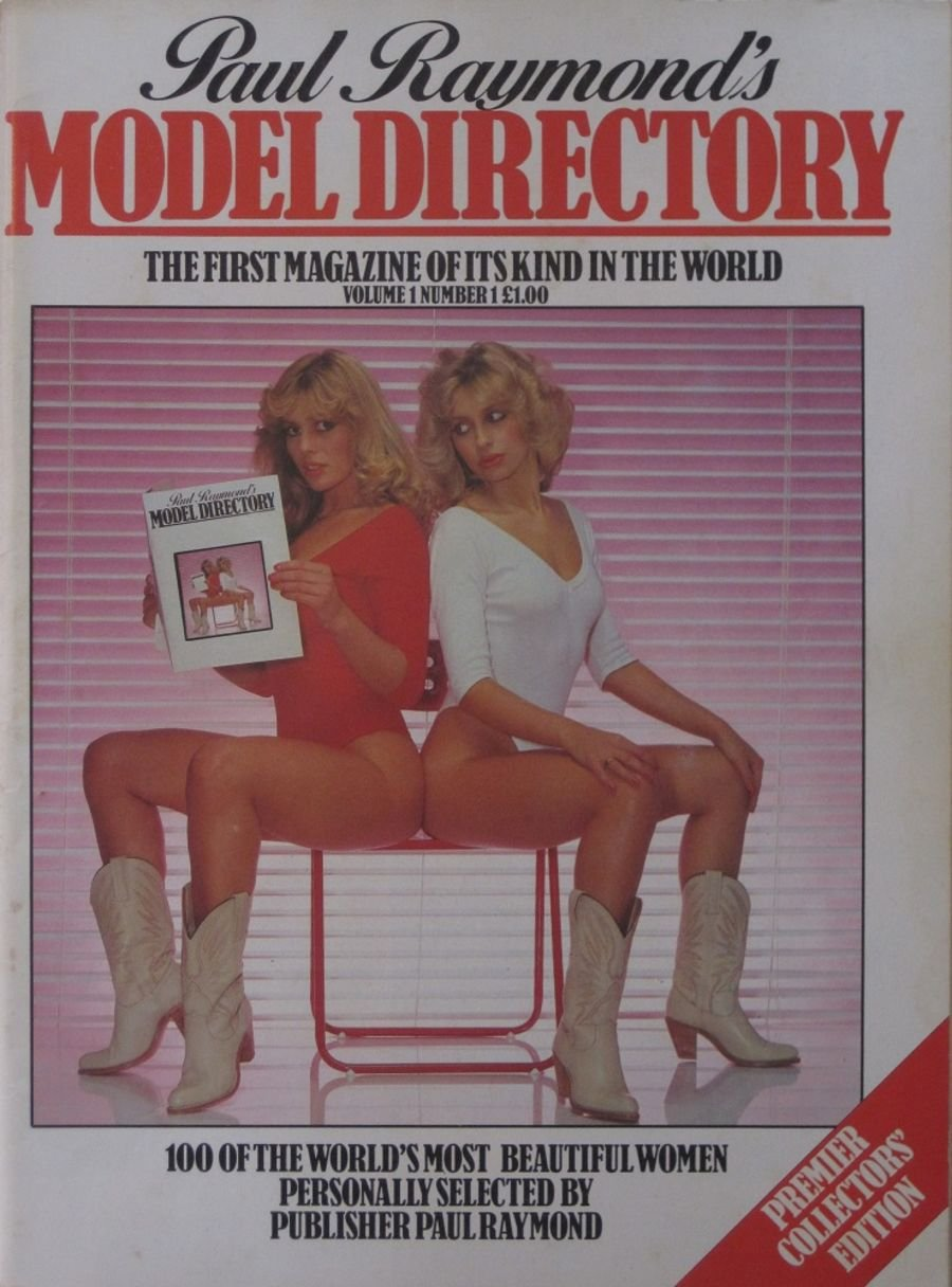 MODEL DIRECTORY. VOL. 1 NO. 1. VINTAGE ADULT MAGAZINE.