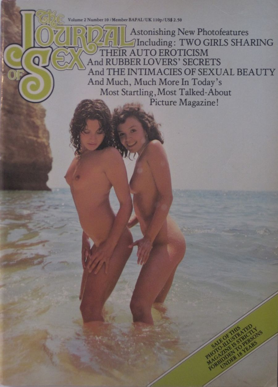 THE JOURNAL OF SEX. VOL. 2 NO. 10. VINTAGE ADULT MAGAZINE.