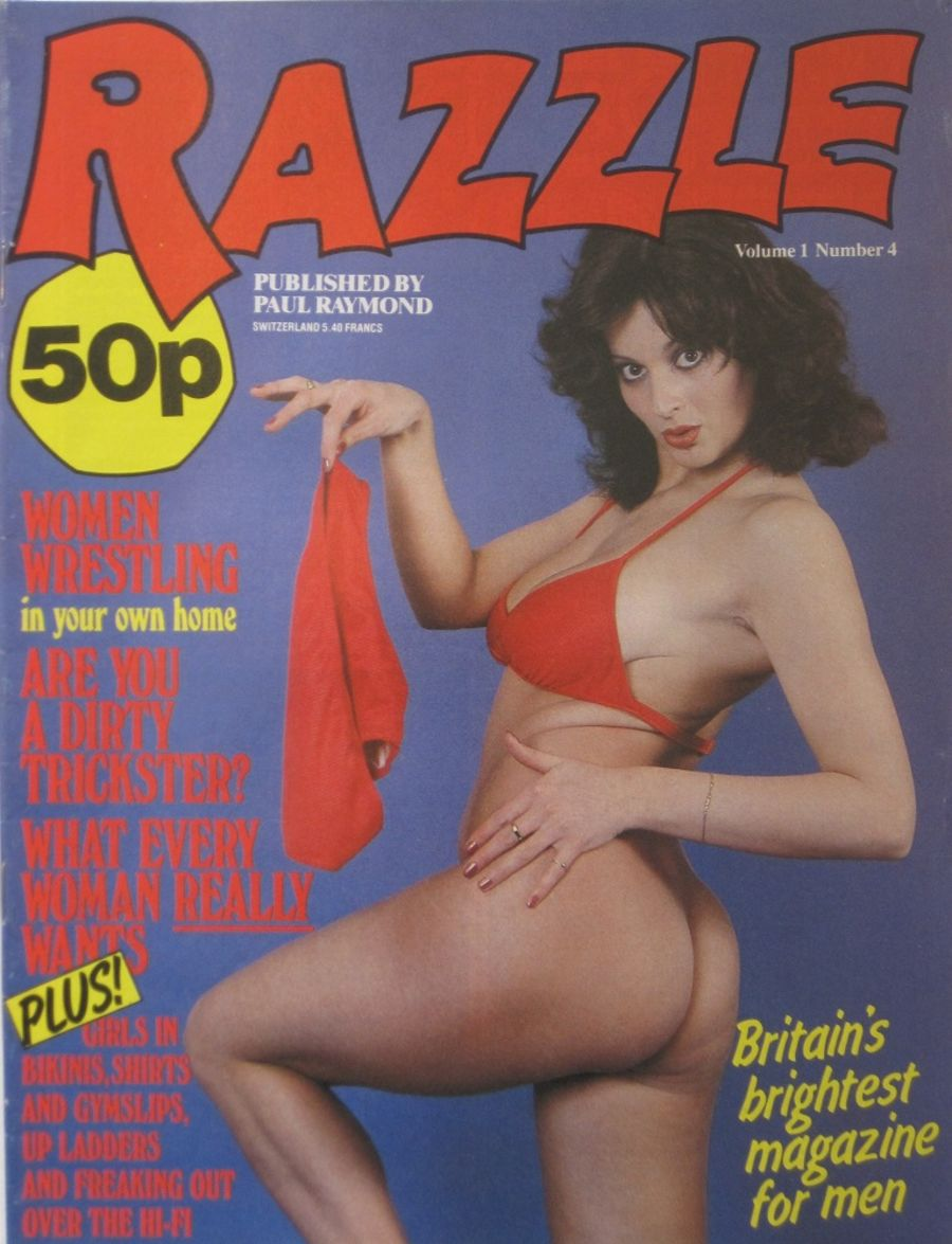 RAZZLE. VOL. 1 NO. 4. VINTAGE ADULT MAGAZINE.