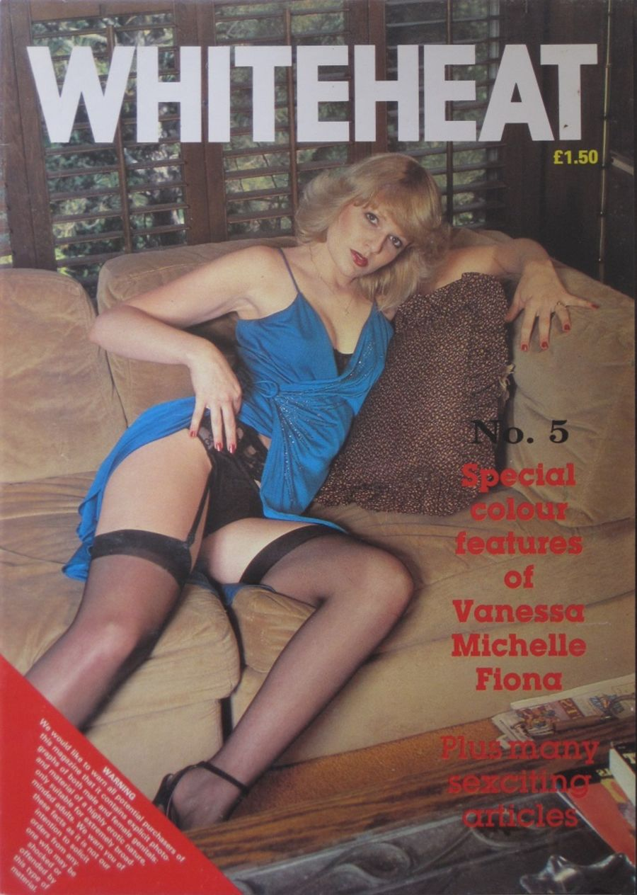 WHITEHEAT. NO. 5. VINTAGE ADULT MAGAZINE.