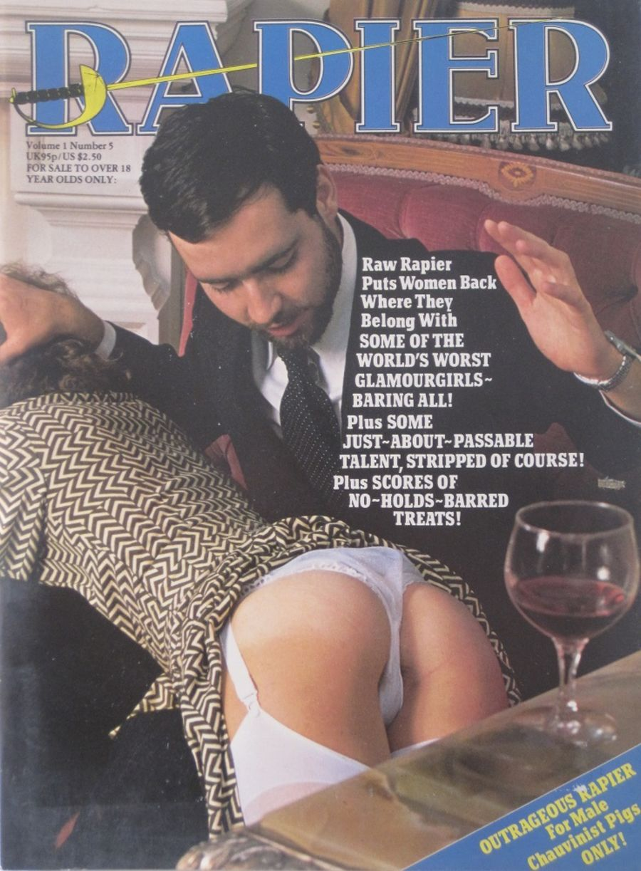 RAPIER. VOL. 1 NO. 5. VINTAGE ADULT MAGAZINE.