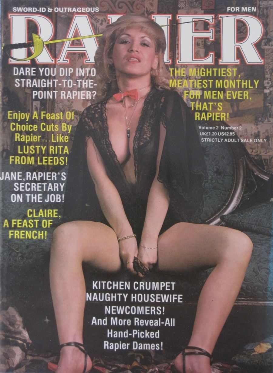 RAPIER. VOL. 2 NO. 2. VINTAGE ADULT MAGAZINE.