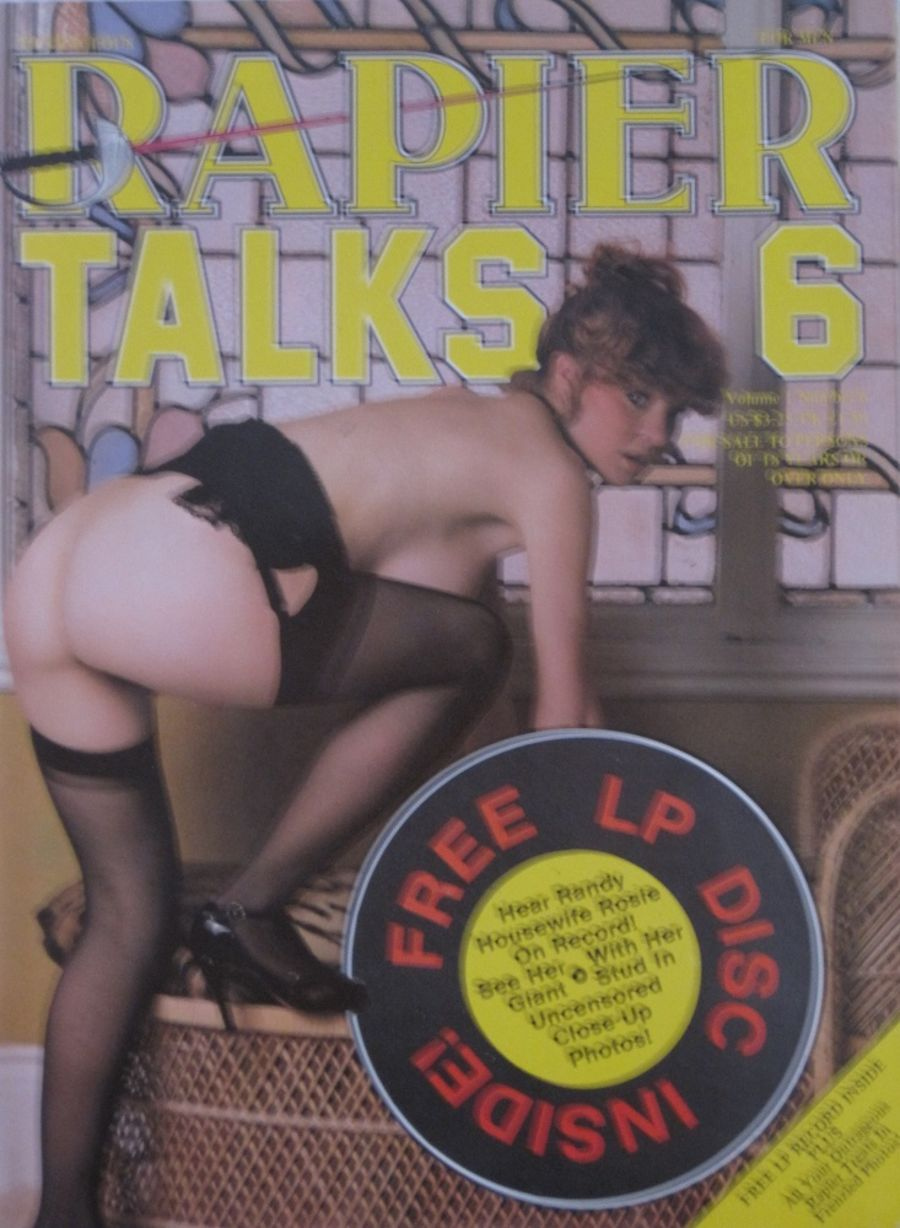 RAPIER TALKS. VOL. 1 NO. 6. VINTAGE ADULT MAGAZINE.