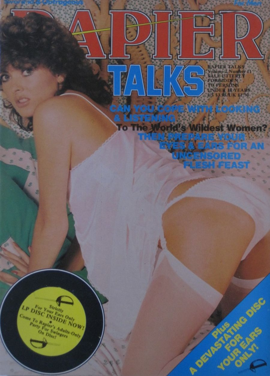 RAPIER TALKS. VOL. 2 NO. 11. VINTAGE ADULT MAGAZINE.